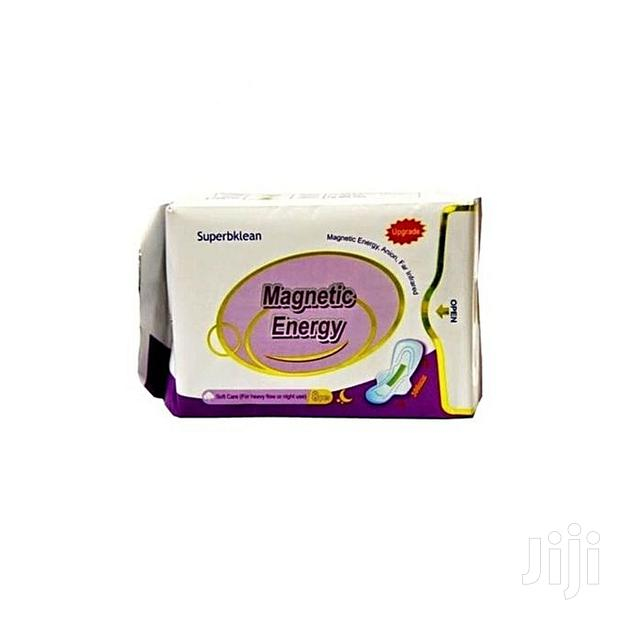 Longrich Superbklean Magnetic Anion Sanitary Pad - Night Use - 8 Pads