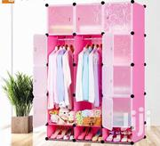 12 Cube Plastic Wardrobe With Shoe Rack | Furniture for sale in Greater Accra, Accra Metropolitan