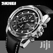 Skmei Analog Black Dial Men's Watch | Watches for sale in Greater Accra, Nii Boi Town