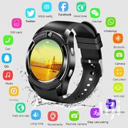 V8 Smart Watch + Wireless Magnetic Earphone | Smart Watches & Trackers for sale in Greater Accra, Achimota