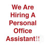 Personal Office Assistant Needed | Human Resources Jobs for sale in Greater Accra, East Legon (Okponglo)