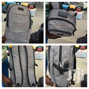 Quality Ambor Grey Backpack With Code Zip Lock   Bags for sale in Greater Accra, Kokomlemle