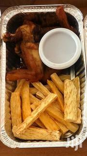 Fried Yam,Spicy Wings And Chilli Sauce | Party, Catering & Event Services for sale in Greater Accra, Kwashieman