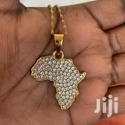 Crystal Studded Map Necklace | Jewelry for sale in Greater Accra, Teshie-Nungua Estates