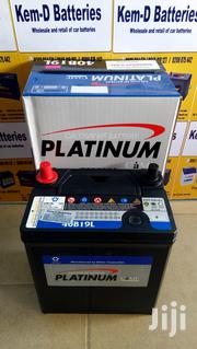 Car Battery - 11 Plates Platinum Small Pole + Free Delivery | Vehicle Parts & Accessories for sale in Greater Accra, North Kaneshie