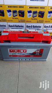 Car Battery Mutlu 17 Plates + Free Office Or Home Delivery | Vehicle Parts & Accessories for sale in Greater Accra, North Kaneshie
