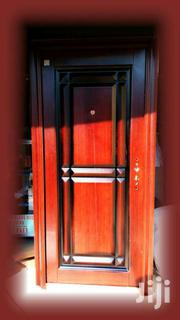 Turkey Security Metalic Door With Peephole +Free Locks + Door Handles | Doors for sale in Greater Accra, Okponglo