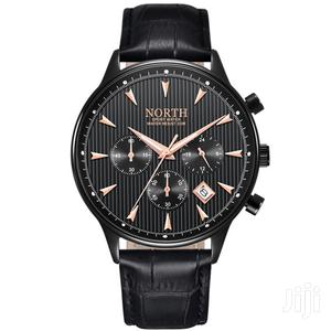 Chronograph Leather North Business Watch