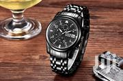 Stainless Black Analog Chrongraph Men's North Business Watch   Watches for sale in Greater Accra, Achimota