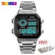 Digital Chain Strap 5ATM Waterproof Men Watch | Jewelry for sale in Greater Accra, Akweteyman