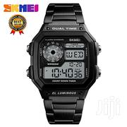 All Black Stainless Steel Skmei Men Watch   Watches for sale in Greater Accra, Akweteyman