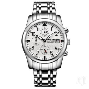 Silver Stainless North Chronograph Watch