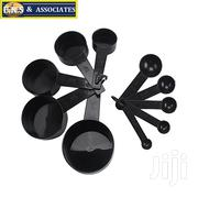 Black 10 Piece Kitchen Measuring Cups And Scoops Set | Kitchen & Dining for sale in Greater Accra, Ga West Municipal