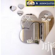 Silver 3D Mirror Hearts Shape Wall Sticker | Home Accessories for sale in Greater Accra, Ga West Municipal