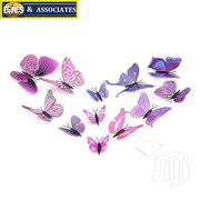 12 Pcs 3D Butterfly Sticker Decal Wall | Home Accessories for sale in Greater Accra, Ga West Municipal