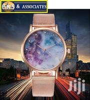 Ladies Quartz Watch With Nebula Mesh Belt | Watches for sale in Greater Accra, Ga West Municipal