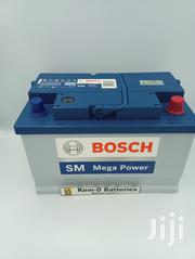 15 Plates Car Battery - Bosch SM Mega Battery + Free Delivery | Vehicle Parts & Accessories for sale in Greater Accra, North Kaneshie