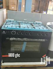 New Nasco 5 Burver Oven & Grill Stainless Gas Cooker Inbox | Kitchen Appliances for sale in Greater Accra, Kokomlemle