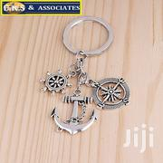 Silver Compass Rudder Anchor Keychain | Jewelry for sale in Greater Accra, Ga West Municipal