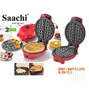 Saachi 2 In 1 Waffle and Doughnut Maker | Kitchen Appliances for sale in Greater Accra, Labadi-Aborm