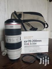 Canon 70-200mm F2.8 IS Usm | Cameras, Video Cameras & Accessories for sale in Greater Accra, North Kaneshie