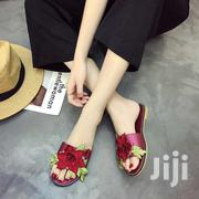 Women Embroidered High Root Shoes Non-slip Thick Sandals   Shoes for sale in Greater Accra, Odorkor