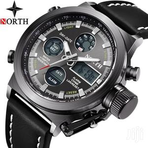 Analog&Digital LED Diplay Military Sports Watch