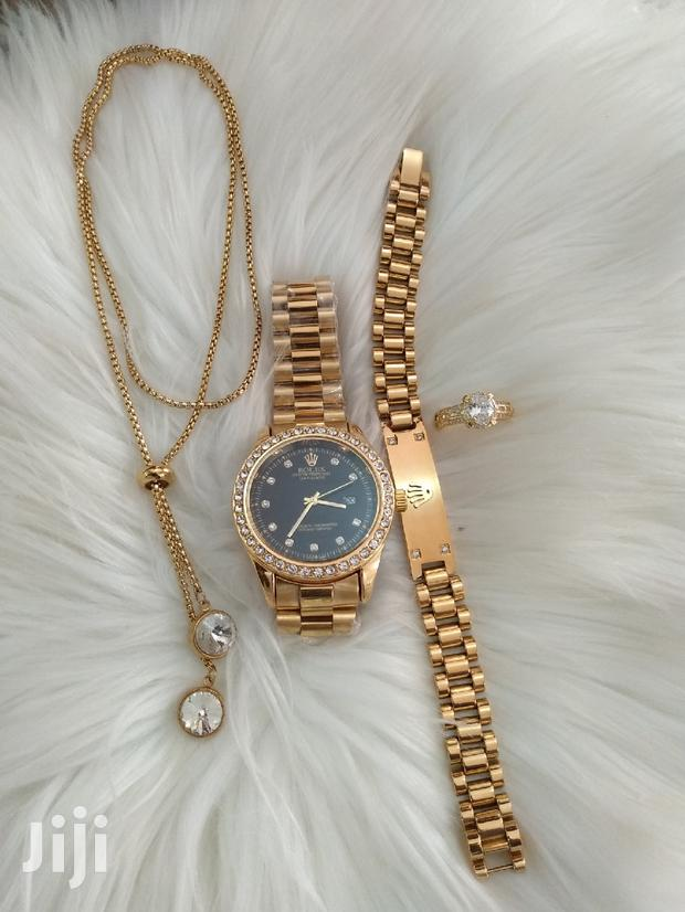 Archive: Rolex Watch With Chain