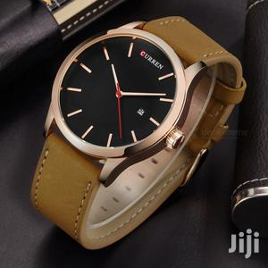 Men's Casual Curren Leather Luxury Watches