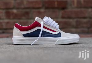 vans bleu old school