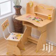 Wooden Desk And Chair | Children's Furniture for sale in Greater Accra, North Kaneshie