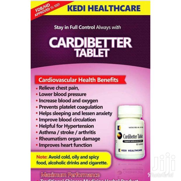 Archive: Treat Asthma ,Stroke , Arthritis Etc.With Cardibetter Tablet