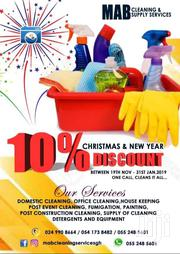 Post Construction Cleaning And Trash Handling Service | Cleaning Services for sale in Greater Accra, East Legon