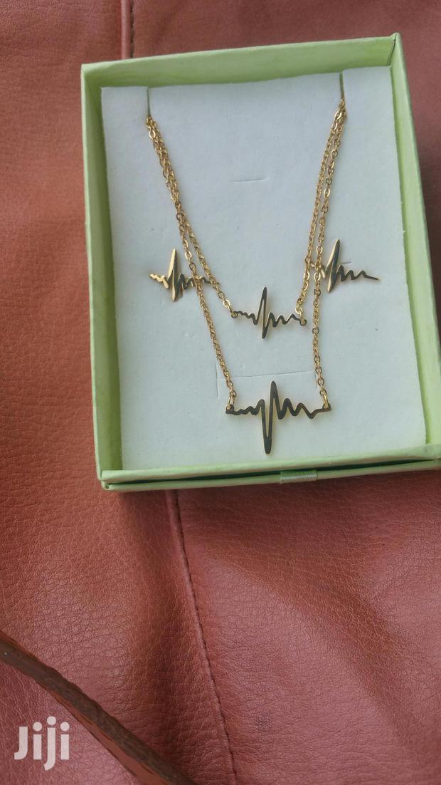 Archive: Heart Beat Pendant Necklace