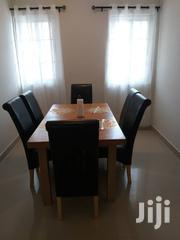 Dining Table With 6 Leather Chairs | Furniture for sale in Greater Accra, Ga South Municipal