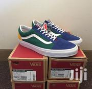Vans Old Skool Yacht Club Yellow Blue Green And Red Colorblocked | Shoes for sale in Greater Accra, Achimota