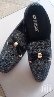 Jemson Mens Suede Loafers-silver Spotted | Shoes for sale in Greater Accra, Ga East Municipal