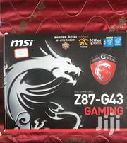 Msi Z87 G43 Motherboard(4th Gen) | Computer Hardware for sale in Greater Accra, Kwashieman