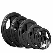 Olympic Cast Iron Tri-grip Weight Plates | Sports Equipment for sale in Greater Accra, Adenta Municipal