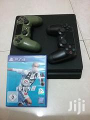 Playstation 4 Slim + 2pads + Fifa 19 | Video Game Consoles for sale in Greater Accra, Apenkwa