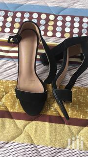 Black Sandals Size 37 38 | Shoes for sale in Greater Accra, Alajo