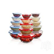 Heat Resistant Glass Storage Bowl Set 15 Pieces Multicolour | Kitchen & Dining for sale in Greater Accra, Airport Residential Area