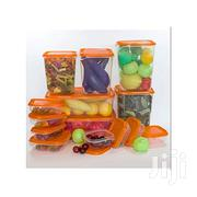 Plastic Storage Bowl Set - 17 Pieces - Orange | Kitchen & Dining for sale in Greater Accra, Tema Metropolitan