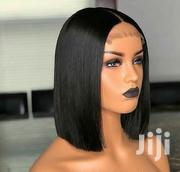Grade 10A+ 100% Natural Virgin Human Hair `Blunt Cut Wig Cap 10 Inches | Hair Beauty for sale in Greater Accra, Darkuman