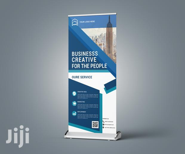Affordable But Quality Pull-up Banner