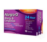 Allegra-d 24 Hour – 10 Tablets | Vitamins & Supplements for sale in Greater Accra, Ga West Municipal