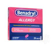 Benadryl Allergy Ultratab – 24 Tablets | Vitamins & Supplements for sale in Greater Accra, Ga West Municipal