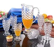 7set Jar With Drinking Glass | Kitchen & Dining for sale in Greater Accra, Achimota