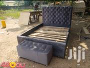 Quality Design Bed With Ottoman | Furniture for sale in Greater Accra, Kotobabi