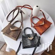 Beautiful Mini Snake Skin Quality Leather Handbags | Bags for sale in Greater Accra, Accra Metropolitan